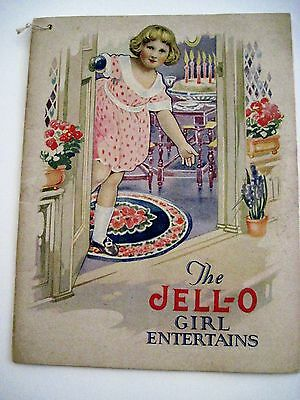 "Vintage Rosie O'Neil Ilustrations in ""The Jell-O Girl Entertains"" w/ Kewpies *"