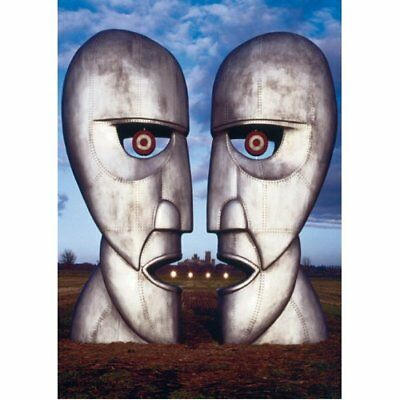 Pink Floyd The Division Bell Talking Metal Heads Album Cover Postcard Official