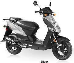 UnRegistered Kymco Agility 50cc 50cc Scooter Silver