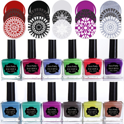 15ml Stempellack Born Pretty Stamping Lack Nail Art Stamping Polish