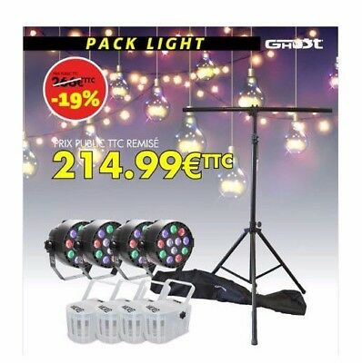 Pack lumieres a Led Gigbar Barre de lumiere Party bar Jb-Systems