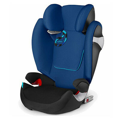 Cybex Blue Solution M-Fix Booster Car Seat, Weight limit: 40-110 lbs - NEW