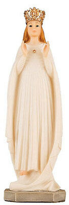 OUR LADY OF KNOCK 125mm RESIN STATUE - CRUCIFIXES CANDLES PICTURES LISTED