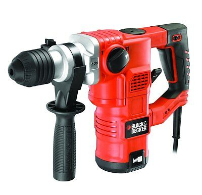 MARTILLO PERCUTOR KD1250 1250W 3,5 J BLACK+DECKER (incluye maletín)