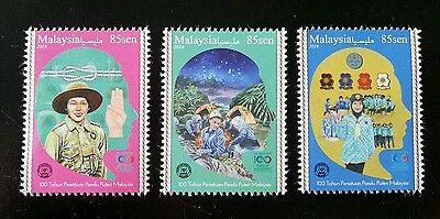 Malaysia 100 Years Girl Guides Association 2016 Scout Uniform Camp (stamp) MNH