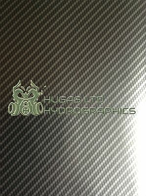 Hydro Dipping Film HYDROGRAPHICS TRUE CARBON SILVER 100 HUGASLTD