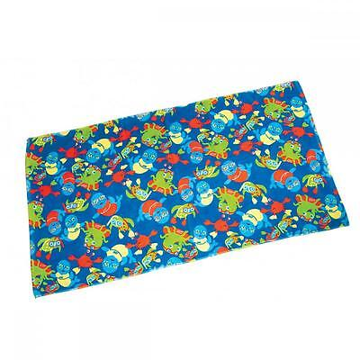 Zoggy Childs Towel (110cm x 60cm) Blue Multi For Swimming (9000141)
