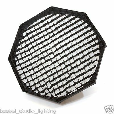 80cm Foldable Beauty Dish & Removeable Honeycomb Grid & diffuser Elinchrom Fit