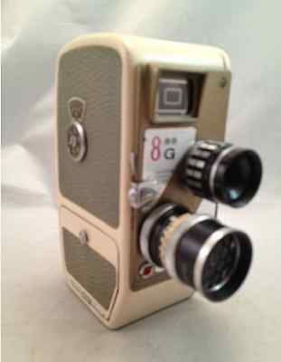 Original Vintage 8G Mamiya Model III 8mm Movie Camera