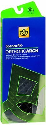 Spenco RX 3/4 Length Orthotic Arch Supports Size 5 1 Pa