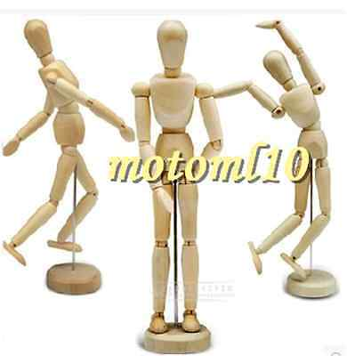 Hot Art Class Wooden Figure Male Manikin Mannequin Wood Movable Model Display Mo