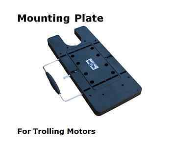 HASWING QUICK RELEASE MOUNTING PLATE For BOW TROLLING MOTOR MOTORS 55 and 80 LBS