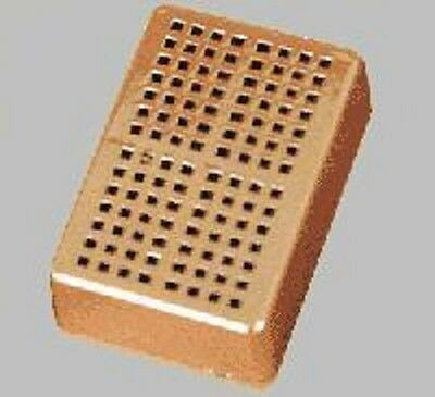 "2""x 3"" Gold Rectangular Humidifier ~ Good for Up To 100 Cigar Humidor ~"