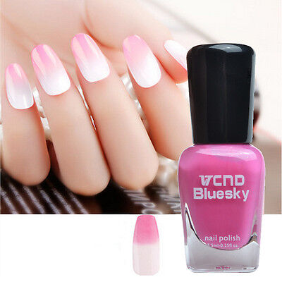 7,5ml Thermolack Thermo Farbwechsel Nagellack Nail Color Changing Polish #2