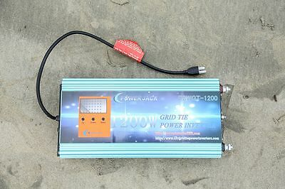 1200W Grid Tie Power Inverter DC 28V-48V / AC 230V +LCD, for Solar Panel MPPT-IT