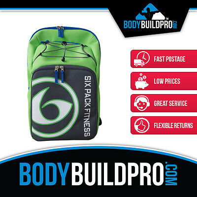 6 Pack Fitness Prodigy Backpack 500 * Meal Organiser * Gym Sports Bag