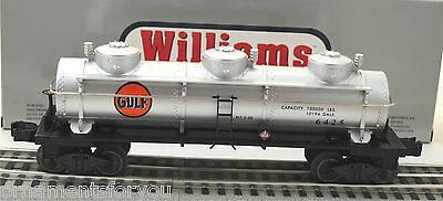 WILLIAMS by Bachmann Gulf Oil 3 Dome Tank Car #6425
