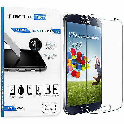 Premium Real HD Tempered Glass Film Screen Protector for SAMSUNG Galaxy S4 i9500