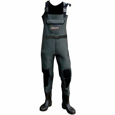 Lineaeffe Chest Waders 4Mm Neoprene Course/sea/fly/boat/carp Fishing All Sizes