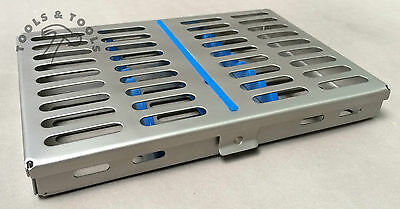 Quality Sterilization Cassette Rack Tray Hold 10 Dental Instruments Autoclave Ce