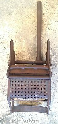 Antique ~ 1932 Sanitary Supply Co ~ Cast Iron Mop Bucket Wringer