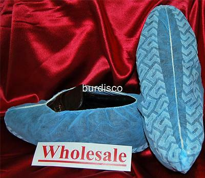 1200 Wholesale lDisposable Shoe Covers non-skid Large (to Men's Size 11)