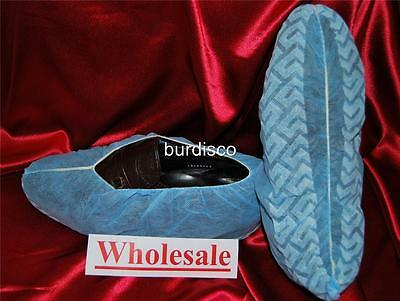 1200 Disposable Shoe Covers non-skid Wholesale EXTRA LARGE (to Men's Size 13)