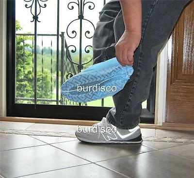 1600 Disposable Shoe Covers non-skid Wholesale LARGE (to Men's Size 10)