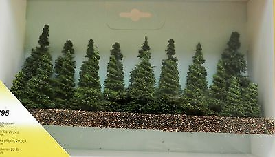 MODEL STICK IN FIR TREES 3 to 9 cm ~ HEKI 1795 SCENERY FOR MODEL RAILWAY N/Z
