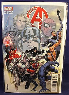 Marvel Comics #033 Cheung New Avengers End of an Era Cover Variant Time Runs Out