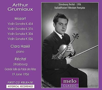 ARTHUR GRUMIAUX and CLARA HASKIL – The legendary Strasbourg Recit BY MELOCLASSIC