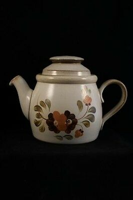 Denby Serenade Stoneware Older Version Pattern 1.1L or 2PT Teapot