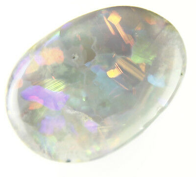 0.3ct ~FULL OF LIFE RICH FLASHY PLAY LIGHTNING RIDGE SOLID CRYSTAL OPAL GEM~a257