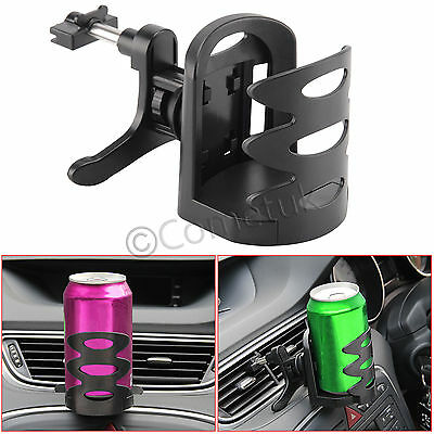Adjustable Universal Auto Car Air Vent Mount Bottle Drink Cup Can Holder Stand