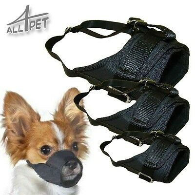 Dog Muzzle - adjustable, safety, breathable, stop biting, nipping