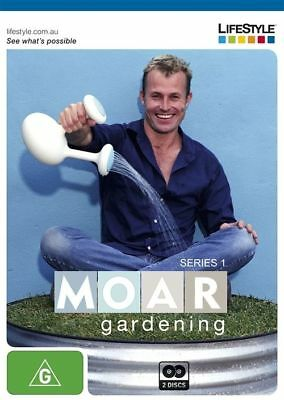 Moar Gardening : Series 1 (DVD, 2011, 2-Disc Set) NEW/SEALED [All Regions]