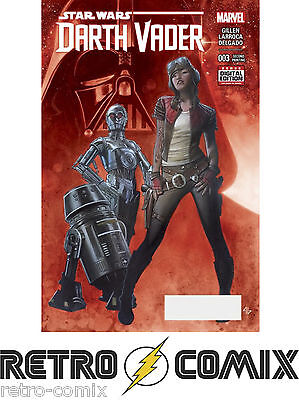 Marvel Darth Vader #3 Second Print New/unread Bagged & Boarded