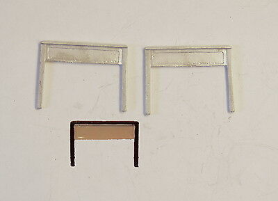 P&D Marsh N Gauge N Scale B32 LSWR Station nameboards (2) castings require paint