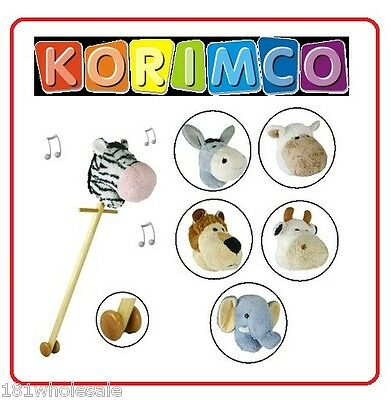 ❤ KORIMCO HOBBY Stick Animal HORSE WITH SOUND FANTASTIC QUALITY BRAND NEW ❤