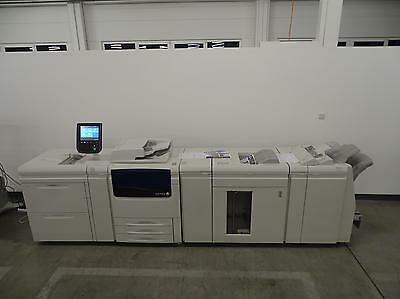 XEROX COLOR PRESS J75 MIT EFI FIERY SERVER EXJ75 WIE C75 770 700 700i AKTUELL!