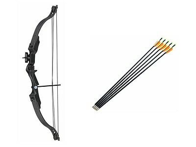 Archery Junior Compound Bow and Arrows Fun Set Pack for Kids + 6 x Free Arrows