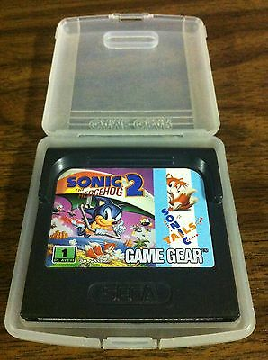 Sonic The Hedgehog 2 Sega Game Gear game with case
