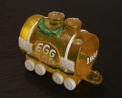 """1988 Hallmark Merry Miniature """"egg Nog Car"""" Used With Gold Tag Free Shipping"""