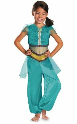 Licensed Princess Jasmine Aladdin Girls Child & Toddler Book Week Costume