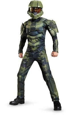 Licensed Master Chief Halo Child Boys Fancy Dress Halloween Book Week Costume