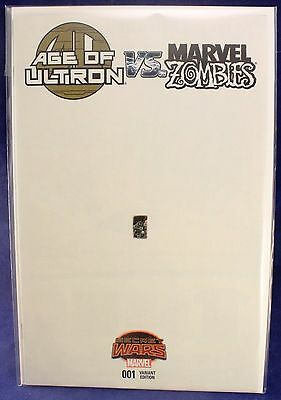 Marvel Comics Zombies vs Age of Ultron Secret Wars #1 Ant-Sized Cover Variant