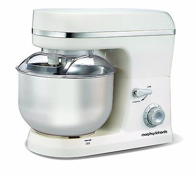 Morphy Richards Accents 400004 Stand Mixer - White white