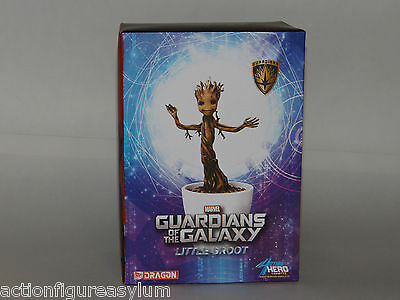 "Dragon 7"" Guardians of the Galaxy Baby Dancing Groot Statue 38138"