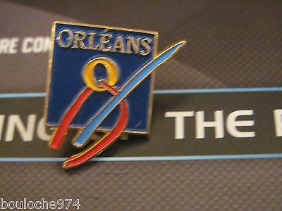 "Pin's /pins / Badge  Ville  De France "" Orleans "" Ef"