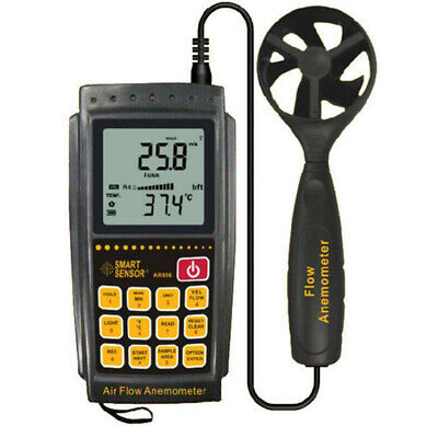 Smart Sensor  AR856 Air-flow Anemometer 0.3~45m/s USB Transmission !!NEW!!